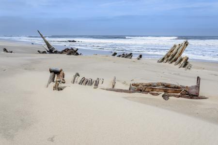 Pobřeží koster - nejnebezpečnější a nejopuštěnější pobřeží světa