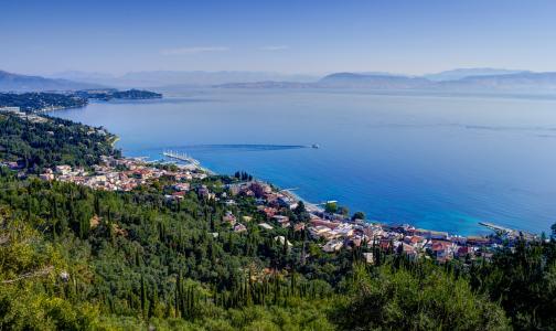 Ostrov Korfu - 7 nejlépe hodnocených turistických míst